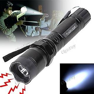 Self Defense - Stun Gun with Flashlight Torch Women safety - Car / Bike Safety Product