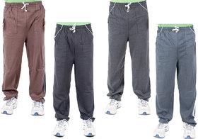 Funky Guys Multi Hosiery Trackpants Pack of 4