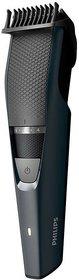 Philips Beard BT3205/15 Corded  Cordless Trimmer for Men  (Black)