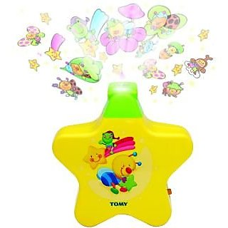 Fantasy India New Born Toy - Baby Sleep Projector With Star Light Show And Music - Helps Baby To Go To Sleep