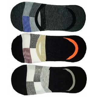 Concepts Loafer Socks (Pack of 3) Assorted Colours