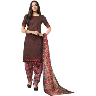 Kurta dupatta (Dress Material) Patiyala Bottom, 2 in 1 collection