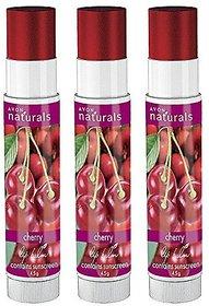 Avon New York Naturals Lip Balm - Cherry (Pack of 3)