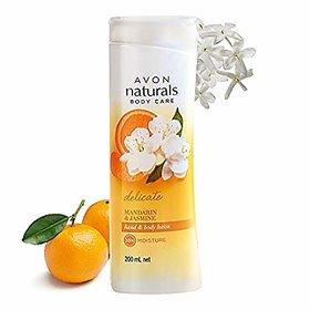 Avon naturals Mandarin jasmine Hand And Body Lotion
