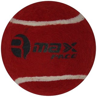 R-Max Maroon Cricket Tennis Ball Pace Heavy (Pack Of 6)