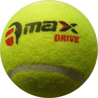 R-MAX Green CRICKET TENNIS BALLS DRIVE ( Pack Of 6 )