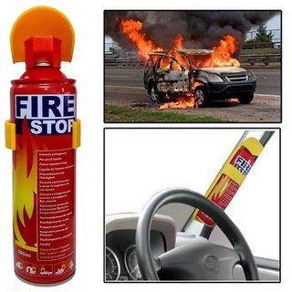 JMO27deals Fire Stop - 500ml Fire Extinguisher (Foam Base)