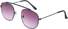 Ivonne Grey Round UV Protected Full Rim Sunglasses