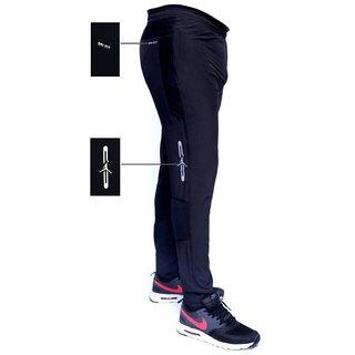 065d23d0d78fa Buy Nike Black Polyester Lycra Track Pants Online - Get 82% Off