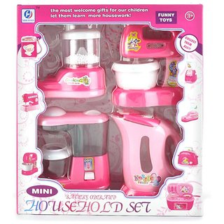 Shribossji Battery Operated Household Set For Girls