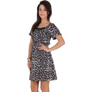 Voila Women's Cotton Tunic (Gray_S)