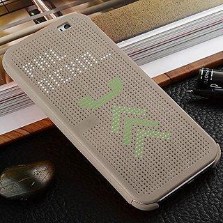Dot View Sensor Case Series Sensor Flip Folio Smart Cover Case for HTC Desire 826