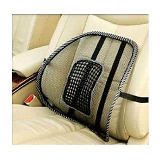id 87857501 Time Left 132931 Car Seat Back Rest Lumber Support Accupressure Beads-Black Acupressure