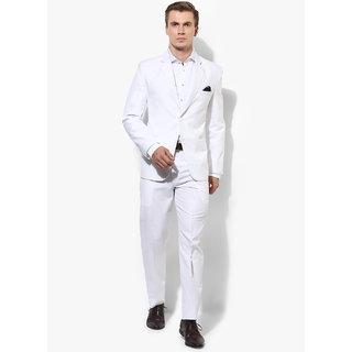 cc1ec043b9b Buy Hangup Men s White Suits Online - Get 67% Off