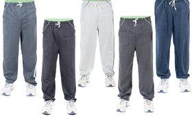 Funky Guys Multi Hosiery Trackpants Pack of 5