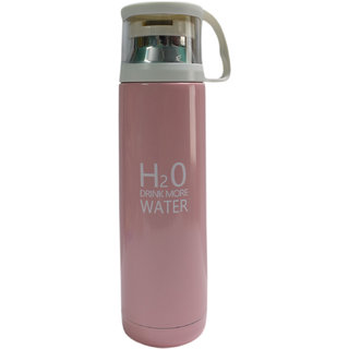 6th Dimensions H2O Stainless Steel Vacuum Cup (Pink)