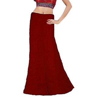 BFAB Womens Cotton Petticoat (Red)