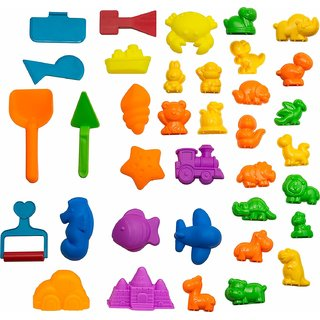 Magic Sand Molds and Tools Kit 36 Pieces