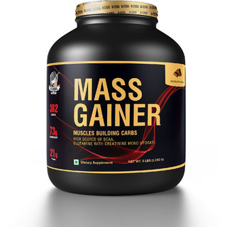 M-Strong Muscle Building Carbs Mass Gainer (Chocolate5 Lbs)