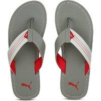 Puma Ketava Red Grey Slippers