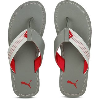 Puma Ketava Red Grey Slippers
