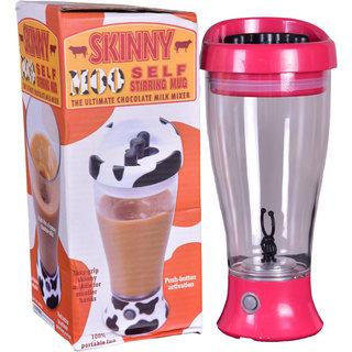 Self Stirring Mug Instant Chocolate Milk Mixer, Capacity of 400 ml