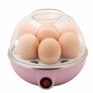 Deluxe Mini Electric 7 Egg Poacher Steamer Cooker Boiler Fryer for Egg (Color May Vary)