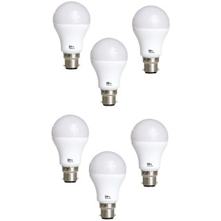 Alpha Pro Home Illuminating Led Bulb Of 12 Watt Pack of 6 With One Year Replacement Warranty