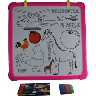 SHRIBOSSJI Magic Drawing GIRAFFE Board for Colouring and Writing for Kids (Multicolour)