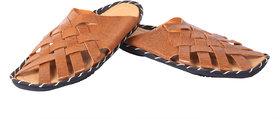 Metmo Men's Tan slipper