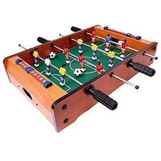 SHRIBOSSJI TABLE SOCCER GAME, FOOTBALL GAME (MULTICOLOR)