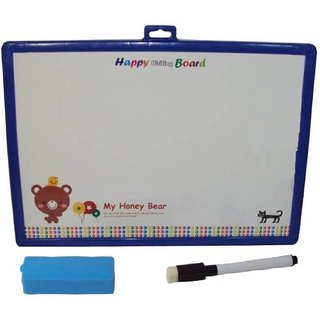 SHRIBOSSJI Educational 2 in 1 Slate with White and Black Board Manas - Premium Range  (Multicolor)