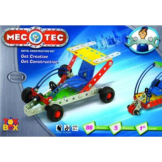 Shribossji Mecotec Construction And Engineering Game For Kids