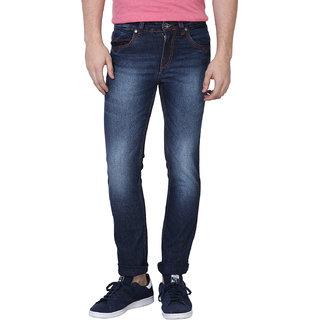 Super X Blue Skinny Fit Jeans For Men Jeans