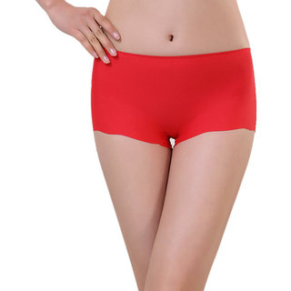 Styles Creation Stylish, Designer Red Panty for Girls  Women (PANT09)