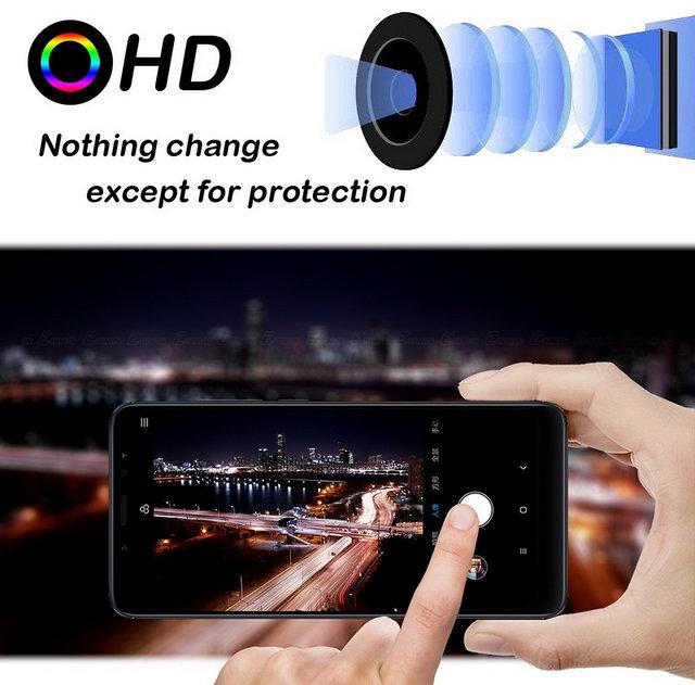 Redmi Note 6 Pro Back Camera Lens Flexible Glass Screen Guard Protector