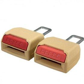 S4D Car Seat Belt Clip Buckle  Safety Alarm Stopper Canceller 2pcs