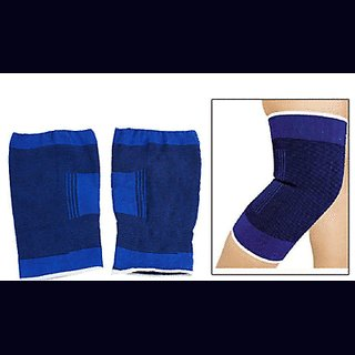 Knee Cap Knee support knee guard  Knee Support (Free Size, Blue,Pair