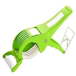 Multi Vegetable  Fruit Cutter  Peeler (ExtraSharp With 5 Blades)