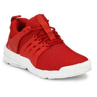 Buy OORA Casual Shoes For Men Red Color
