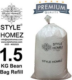 Style Homez 1.5 kg Premium Bean Fillers for Bean Bags