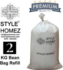Style Homez 2 kg Premium Bean Fillers for Bean Bags