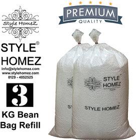 Style Homez 3 kg Premium Bean Fillers for Bean Bags