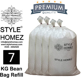 Style Homez 7 kg Premium Bean Fillers for Bean Bags