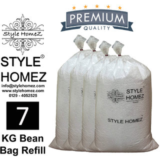 Style Homez 7 kg Premium Bean Fillers for Bean Bags