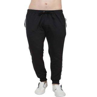 Oxza Polyester Black Track pant  ( t-1)