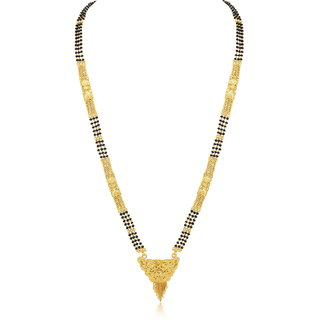 Sukkhi Classy Gold Plated Mangalsutra for women