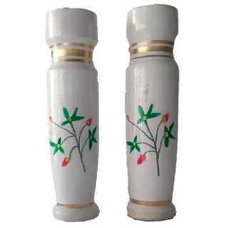 Flower Vase Wooden Art