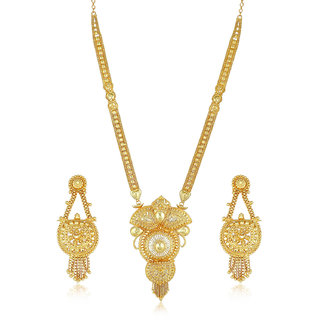 3ee9c05c6c9b9 Sukkhi Exotic Gold plated Necklace Set for Women