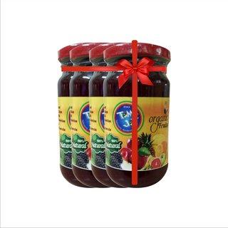 ETHIX Mixed Fruit Jam 260gm (Pack of 4)